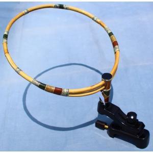 弓型コクタン万力 竹タモ置き台|kujirafc