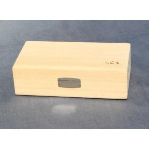 小物収納に!ヘラ白桐小物箱|kujirafc