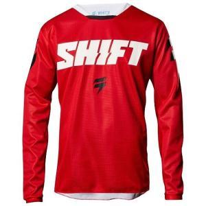 ☆【Shift】WHIT3 Label Ninety Seven モトクロス ジャージー−レッド S