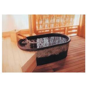 小判型陶器浴槽 1200mm|kukan-rinkle