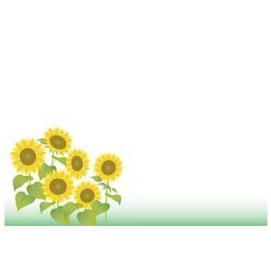 紙テーブルマット 向日葵(100枚入)|kukan-rinkle