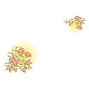 紙テーブルマット 山茶花(100枚入)|kukan-rinkle