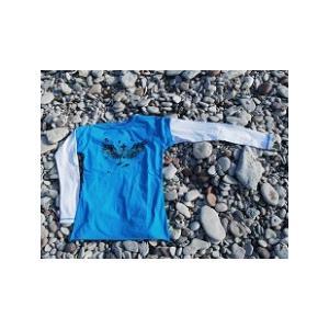 5e62c62927684 長袖tシャツ レディース オーガニック100% エコ レイヤード 長袖 Tシャツ レディース ママ 子供服 北欧 スウェーデン ブランド DYNO