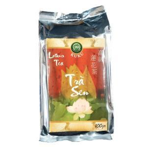 ベトナム お茶 ベトナム お土産 蓮茶 KUKU高級蓮茶 茶葉・100g|kuku-vietnamcoffee