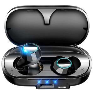 ワイヤレスイヤホン bluetooth5.0 iPhone android Siri対応 高音質 ブ...