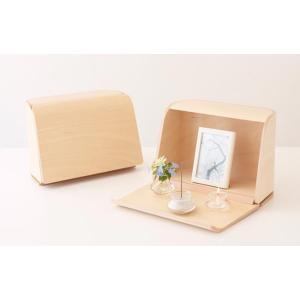ミニ仏壇 祈りの手箱 コンパクト 仏壇 モダン 仏壇 ミニ 小型