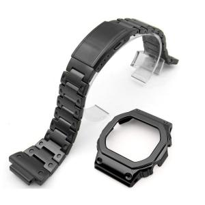 G-SHOCK DW5600 用 互換品 ステンレス ブラック スタイル チェンジ バンド kumagayashop