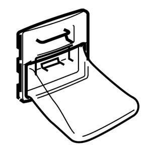 東芝 東芝洗濯機用糸くずフィルターTOSHIBA TIF-4|kumagayashop