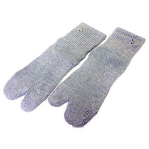 オリーブサラ 足袋ソックス 女性用 (グレー)