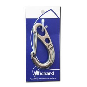 Wichard(ウイチャード) 75mm Safty snap hook (HR) セーラーカラビナ2381|kumagayashop