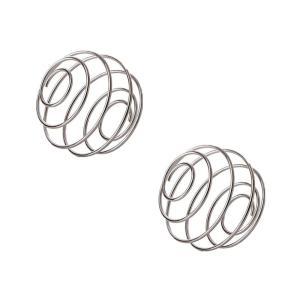 304 ステンレス スチール ブレンダー ボトル ミキシング 泡だて器 ボール カップ プロテイン シェーカー 泡立ボール (2個入り) kumagayashop