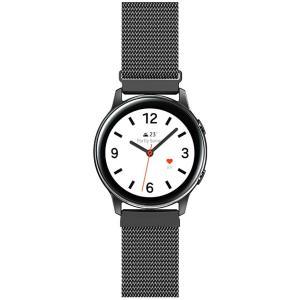AIGENIU 時計バンド マグネット式のあるステンレス ミラネーゼループ 腕時計バンド 取付幅20mm 22mmのスマートウォッチ kumagayashop