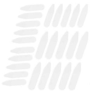 CINEE カラーキーパー プラスチック ワイシャツ 襟芯 カラーステイ 長さ2種類 100枚 6cm 7cmx50枚|kumagayashop