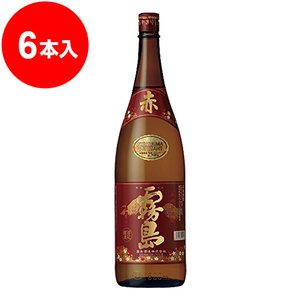 赤霧島 芋焼酎 25度 1.8L×6本<数量...の関連商品10