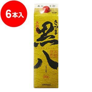 さつま黒八パック 1.8L(6本入)