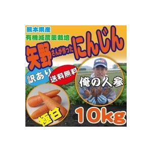 訳あり にんじん10K (有機減農栽培) kumamiru