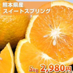 熊本県産スイートスプリング すっきりとした甘さと爽やかな香り♪ 【2箱購入で送料無料・3箱でおまけ付】