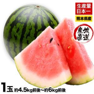 ■名称 すいか  ■産地 熊本県  ■内容量 くまもと秀品すいか約4.5kg前後〜約6kg前後  ■...