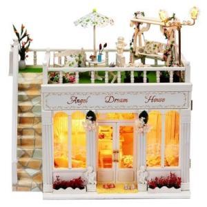 ドールハウス 手作りキットセット anjel dream house …|kumamotokoubou