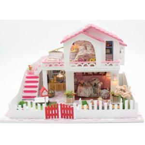 ドールハウス 手作りキットセットミニチュア 地中海風住宅 sweet heart|kumamotokoubou