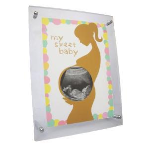 【大切な赤ちゃんに出会うまでの素敵な時間をもっとハッピーに!!】   をモットーにエコー写真専用のフ...