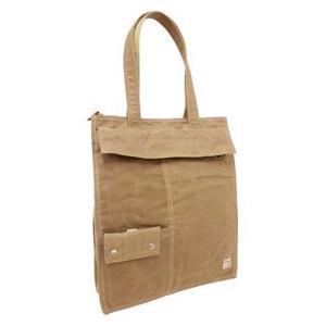 帆布工房3j02トートバッグB4サイズが収納できるタテ型で使いやすいトートバッグ|kumamotoya