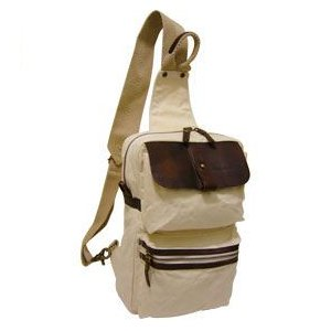 帆布工房3V01バッグ帆布生地を用いたボディバッグはショルダーベルトが左右に付け替えられるバッグ|kumamotoya