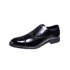 メンズビジネスシューズストレートチップ内羽根マドラスモデロMODELLO紳士靴1801ブラック|kumamotoya