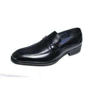 マドラスモデロメンズシューズ MODELLO 紳士靴Uモカスリッポン342ブラック|kumamotoya