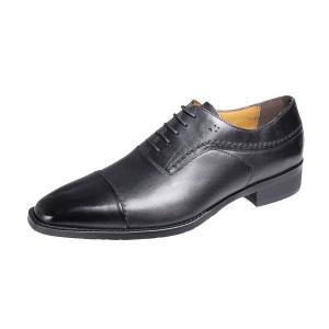 メンズシューズストレートチップ内羽根紐付きマドラス モデロ紳士靴ドレスビジネスシューズ5018ブラック|kumamotoya