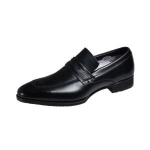 マドラスモデロメンズシューズmadras MODELLO 紳士靴Uチップスリッポン8004ブラック|kumamotoya