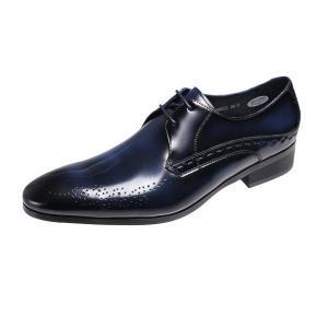 エルオムメンズシューズELLE HOMME紳士靴ドレスビジネスシューズ8022ネイビー|kumamotoya