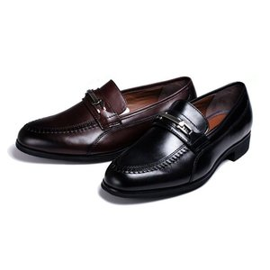 メンズシューズ本革ビジネスシューズfancy madrasビット付紳士靴スリッポン|kumamotoya