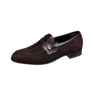マドラスルテシアメンズドレスシューズmadrasluteciaシックなスエード使いがおしゃれな紳士靴3001ブラウンスエード kumamotoya