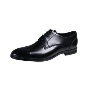 フランコルッチメンズビジネスシューズFRANCO LUZIプレーン外羽根紳士靴2200ブラック|kumamotoya