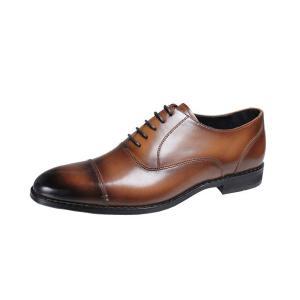 フランコルッチメンズシューズFRANCO LUZIストレートチップビジネスシューズ本革紳士靴2201ブラウン|kumamotoya