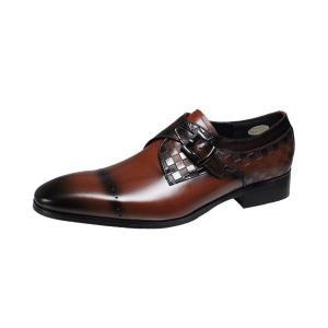 フランコリッチメンズシューズFRANCO LUZI本革紳士靴th02ブラウン|kumamotoya
