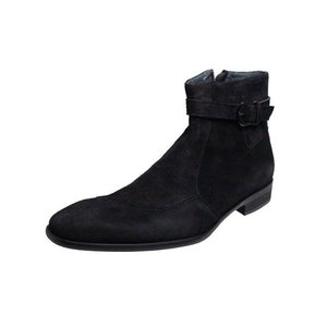 トラサルディTRUSSARDIメンズブーツ11626ブラックベロア紳士靴ドレスブーツ|kumamotoya