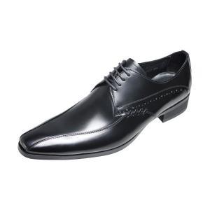 トラサルディTRUSSARDIメンズシューズ13071ブラック紳士靴本革靴紐付きビジネスシューズ|kumamotoya