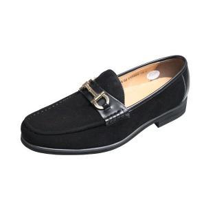 モデーロ ビータ MODELLO VITAメンズシューズ5664ブラックスエード紳士靴スリッポン|kumamotoya