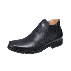 メンズカジュアルサイドゴア付カジュアルブーツマドラスモデロVITA紳士ブーツ5670ブラック|kumamotoya