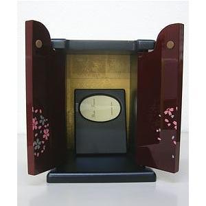ペット仏壇 ぬくもり 写真立て付 黒・さくら・紺|kumano-butu