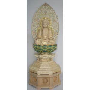 仏像 ご本尊 座釈迦如来 2.5寸|kumano-butu