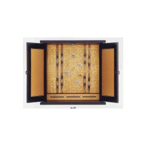 仏壇 漆調 小型仏壇 ミニ仏壇 金蒔大|kumano-butu