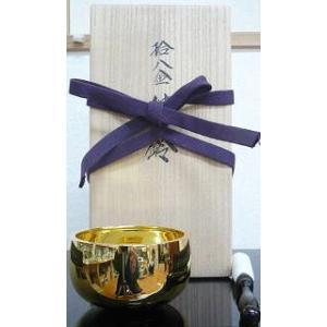 りん おりん 純金 18金製おりん 桐箱リン棒付 2.5寸|kumano-butu