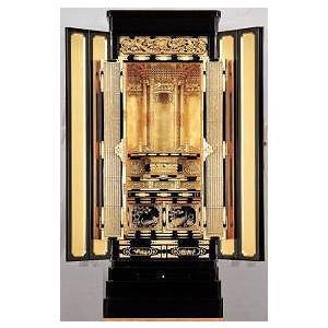 金仏壇 仏壇 彫粉 西 和彩20号 仏壇と同時購入・満点レビューで宗派専用仏具半額|kumano-butu