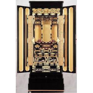 仏壇 金仏壇 彫粉 東 和彩20号 一部地域を除いて無料設置|kumano-butu