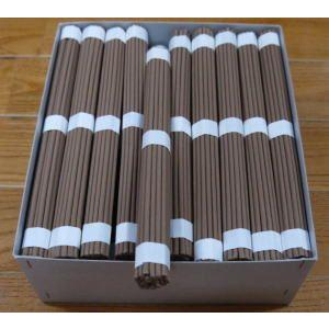 茶ゴマ線香 寺院用線香 8寸|kumano-butu