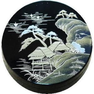 香合 切立 香道具 お香 焼香 日本製 仏具 遠山2.6寸|kumano-butu