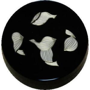 香合 切立 香道具 お香 焼香 日本製 仏具 散蓮紋2.6寸|kumano-butu
